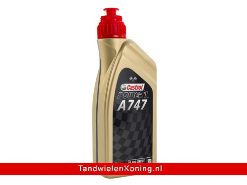 Castrol A747 Racing Olie 2T Fles 1L