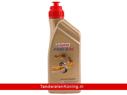 Castrol Power RS 2T Olie Full Synthetisch Fles 1L