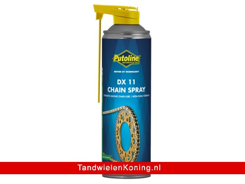Putoline DX11 Kettingspray Spuitbus 500ml