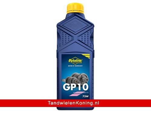 Putoline GP10 Versnellingsbak Olie Fles 1L o.a. Derbi Senda/GPR / Minarelli AM6