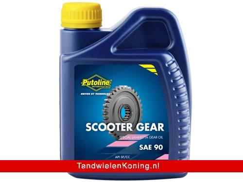 Putoline Scooter Gear Oil SAE 90 1 Liter