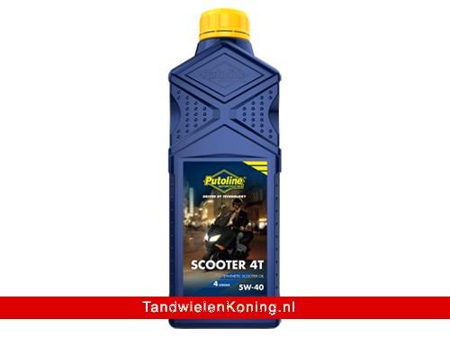 Putoline TM Scooter 4T 5W40 Fles 1L o.a. Piaggio 4T