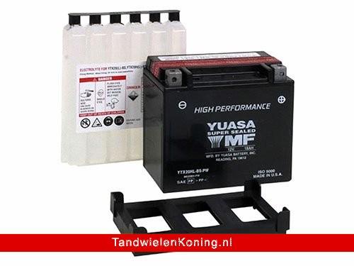 Yuasa Accu YTX20HL-BS-PW High Performance + Zuurpakket